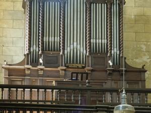 Iglesia parroquial de San Martín de Tours. Órgano