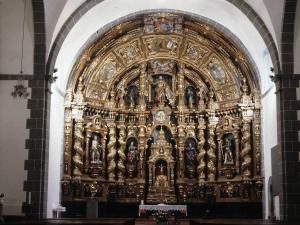 Iglesia parroquial de San Bartolomé. Retablo de San Bartolomé