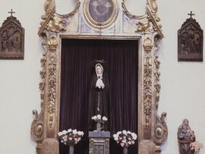 Iglesia parroquial de San Bartolomé. Retablo de la Dolorosa