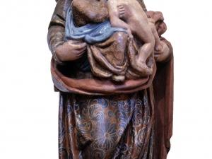 Iglesia parroquial de San Bartolomé. Escultura. Tres generaciones