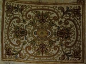 Iglesia parroquial de San Bartolomé. Casulla y dalmática. Ornamento religioso