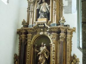 Iglesia parroquial de Nuestra Señora del Rosario de Ugarte. Retablo de San José