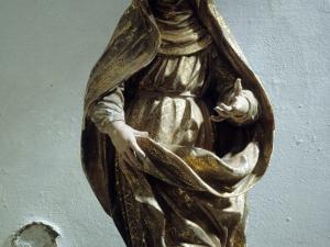 Iglesia parroquial de Nuestra Señora del Rosario de Ugarte. Escultura. Virgen del Pilar