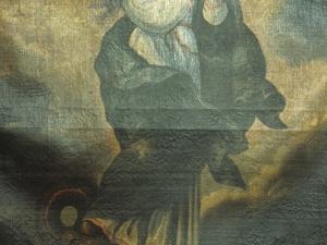 Iglesia parroquial de San Juan Bautista. Pintura. Inmaculada Concepción