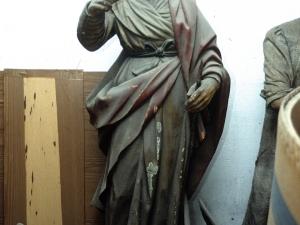 Iglesia parroquial de San Juan Bautista. Escultura. Santa Marina