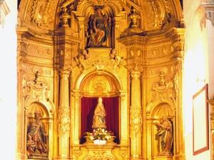 Iglesia parroquial de Nuestra Señora de la Esperanza de Uribarri. Retablo de la Virgen de la Esperanza