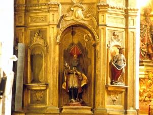 Iglesia parroquial de Nuestra Señora de la Esperanza de Uribarri. Retablo de San Blas