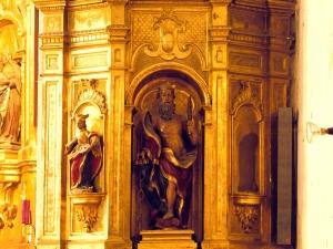 Iglesia parroquial de Nuestra Señora de la Esperanza de Uribarri. Retablo de San Bartolomé