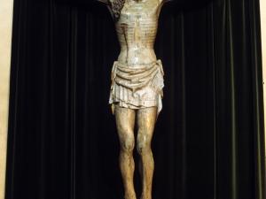 Iglesia parroquial de Nuestra Señora de la Esperanza de Uribarri. Escultura. Cristo Crucificado