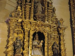 Iglesia parroquial de San Miguel de Garagartza. Retablo de la Virgen con niño