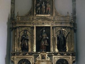 Iglesia parroquial de Santa Águeda de Guesalibar. Retablo de Santa Águeda