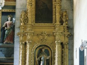 Iglesia parroquial de Santa Eulalia de Bedoña. Retablo de San Antón