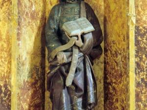 Ermita de San Valerio de Veneras. Escultura. Santo