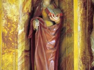 Ermita de San Valerio de Veneras. Escultura. Santa