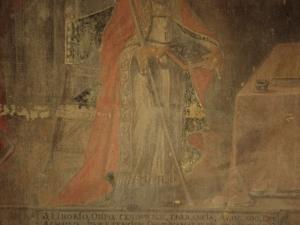 Ermita de San Valerio de Veneras. Pintura. San Liborio