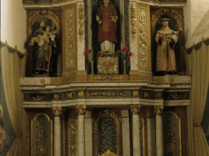 Iglesia parroquial de San Esteban de Udala. Retablo de San Esteban