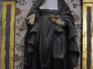 Iglesia parroquial de San Esteban de Udala. Escultura. Santa Teresa