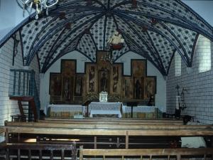 Ermita de San Valerio de Veneras. Altar
