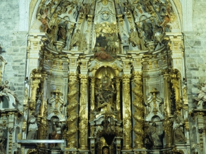 Iglesia parroquial de San Pedro. Retablo de San Pedro