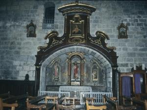 Iglesia parroquial de San Pedro. Retablo del Sagrado Corazón de Jesús