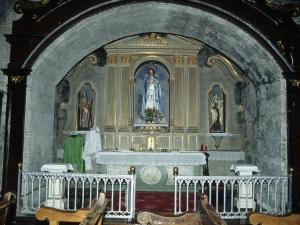 Iglesia parroquial de San Pedro. Retablo de la Virgen