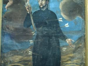 Iglesia parroquial de San Pedro. Pintura. Retrato del padre Martín Julián de Lizardi