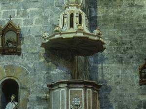 Iglesia parroquial de San Pedro. Púlpito