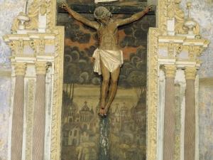 Ermita de Santa Cruz. Retablo de Santo Cristo