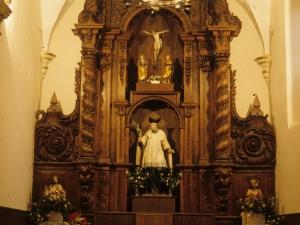 Iglesia parroquial de San Millán de Arkarazo. Retablo de San Millán