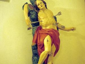 Iglesia parroquial de San Millán de Arkarazo. Escultura. San Sebastián