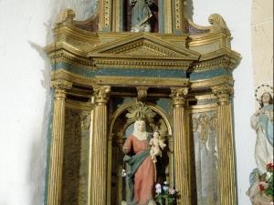 Iglesia parroquial de Santa Lucía de Galartza. Retablo de la Virgen del Rosario
