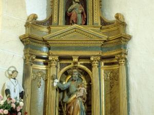 Iglesia parroquial de Santa Lucía de Galartza. Retablo de San José