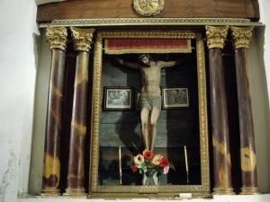 Iglesia parroquial de Santa Lucía de Galartza. Escultura. Cristo Crucificado