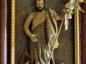 Ermita de San Blas de Goroeta. Escultura. San Juan Bautista