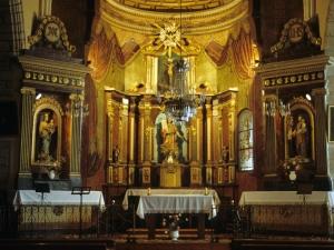 Iglesia parroquial de San Juan Bautista de Aozaratza. Escultura. San Vicente