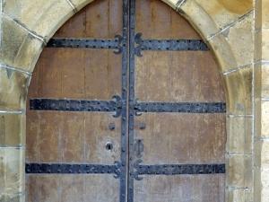 Iglesia parroquial de San Juan Bautista de Aozaratza. Puerta