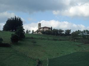 Iglesia parroquial de Santa Lucía de Galartza.