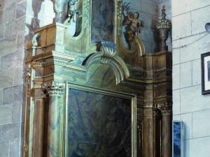 Iglesia parroquial de San Martín. Retablo de las Ánimas