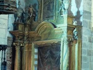 Iglesia parroquial de San Martín. Retablo del Sagrado Corazón de Jesús