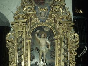 Iglesia parroquial de San Martín. Retablo de San Sebastián