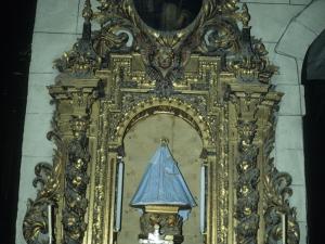 Iglesia parroquial de San Martín. Retablo de la Virgen de los Remedios