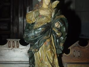 Iglesia parroquial de San Martín. Escultura. Inmaculada Concepción
