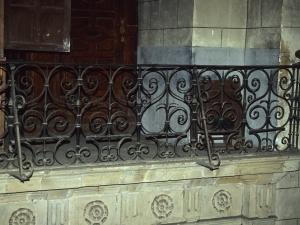 Iglesia parroquial de San Martín. Reja