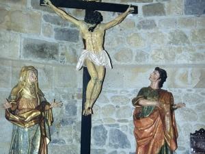 Iglesia parroquial de San Martín. Escultura. Calvario