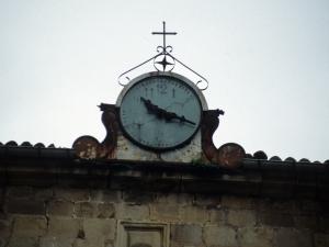 Iglesia parroquial de San Martín. Reloj de torre