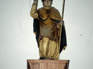 Iglesia parroquial de San Gregorio. Escultura. San Gregorio