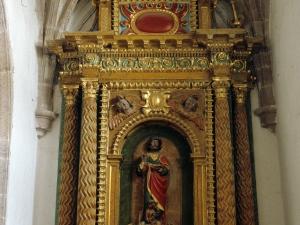 Iglesia parroquial de Nuestra Señora de la Asunción. Retablo de San Bartolomé