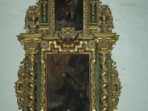 Iglesia parroquial de Nuestra Señora de la Asunción. Retablo de San Francisco de Asís