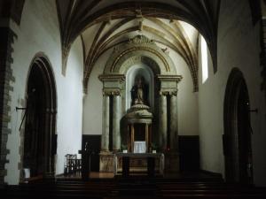 Iglesia parroquial de Nuestra Señora de la Asunción. Altar