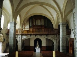 Iglesia parroquial de Nuestra Señora de la Asunción. Coro y órgano